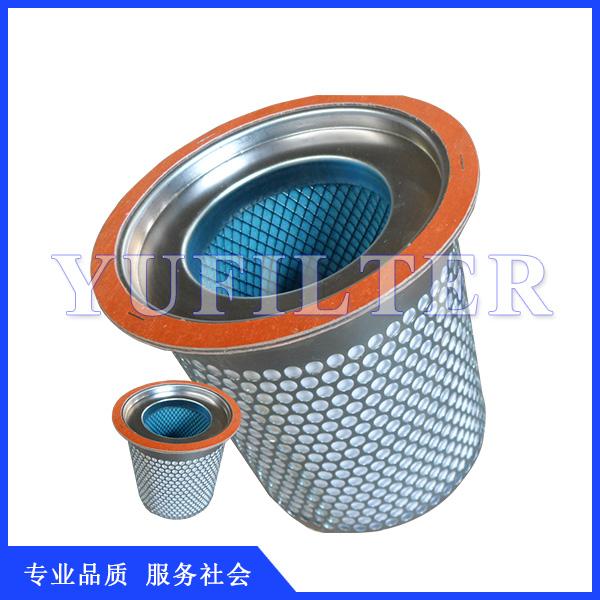空压机油气分离器