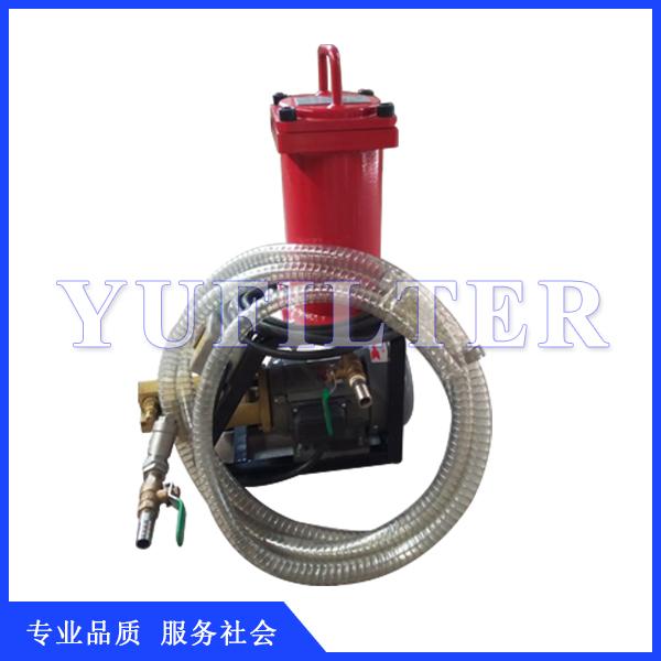 豫菲特小流量液压油滤油器6L/min